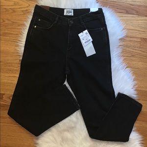 Zara TRF Mom Jeans High Rise